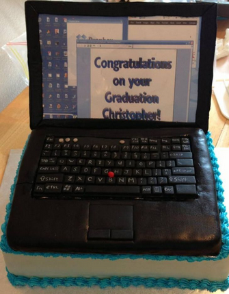 Laptop Cakes Decoration Ideas Little Birthday Cakes
