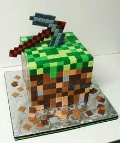 minecraft axe cake