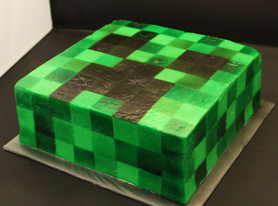 Cake Ideas Minecraft : Minecraft cakes   Decoration ideas Little Birthday Cakes