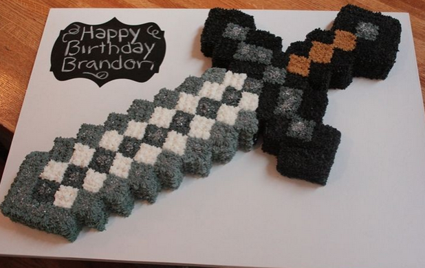 Minecraft cakes – Decoration ideas | Little Birthday Cakes