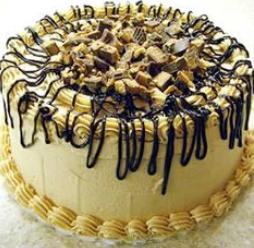 peanut butter vanilla cake