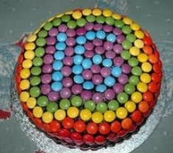smarties chocolate cakes