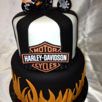 Harley Davidson cake decorations