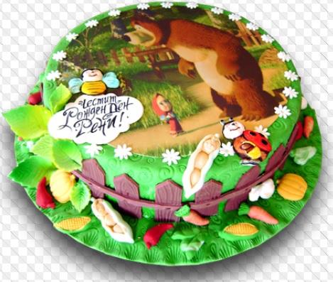 masha and the bear birthday cakes