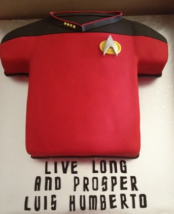 star trek cake decorations
