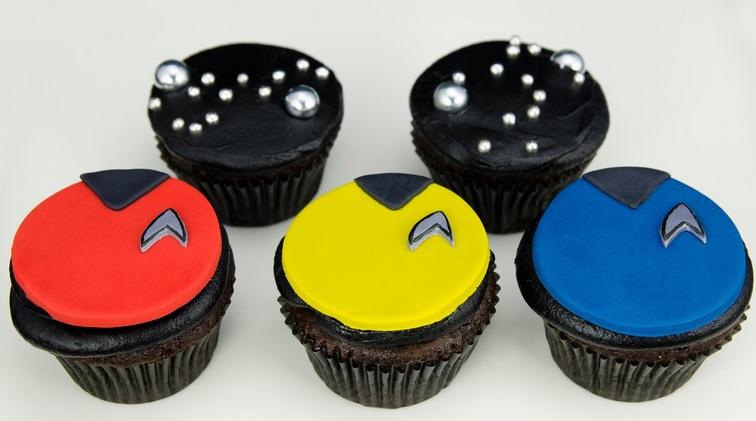 star trek cupcakes