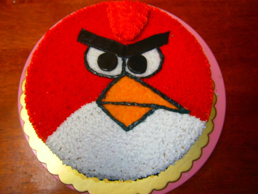 Angry Birds Birthday Cake Images