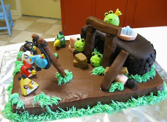 Angry Birds Cake Decorations