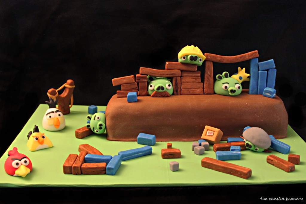 Angry Birds Decorations For Cakes