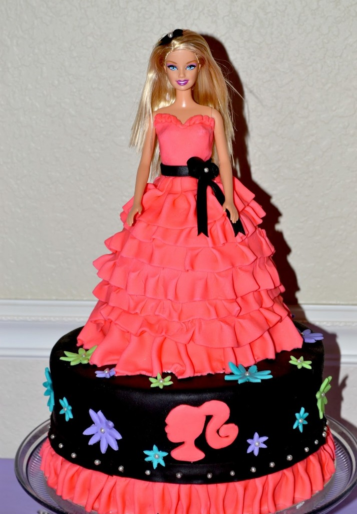 Barbie Birthday Cake Pictures