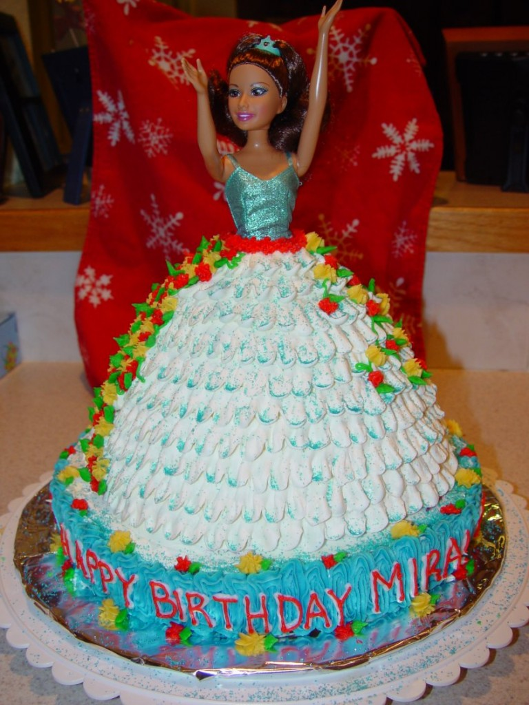 Barbie Cake Ideas