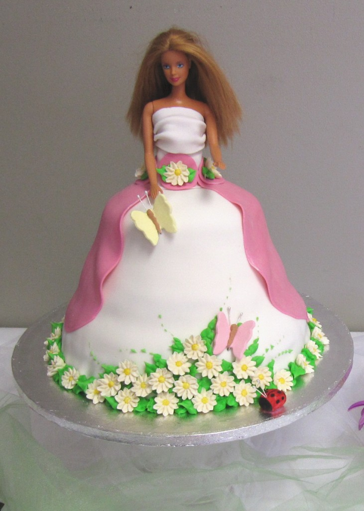 Barbie Cake Image