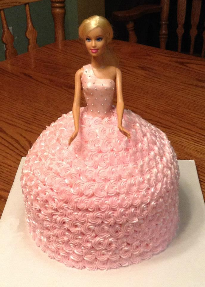 Barbie Cakes For Girls