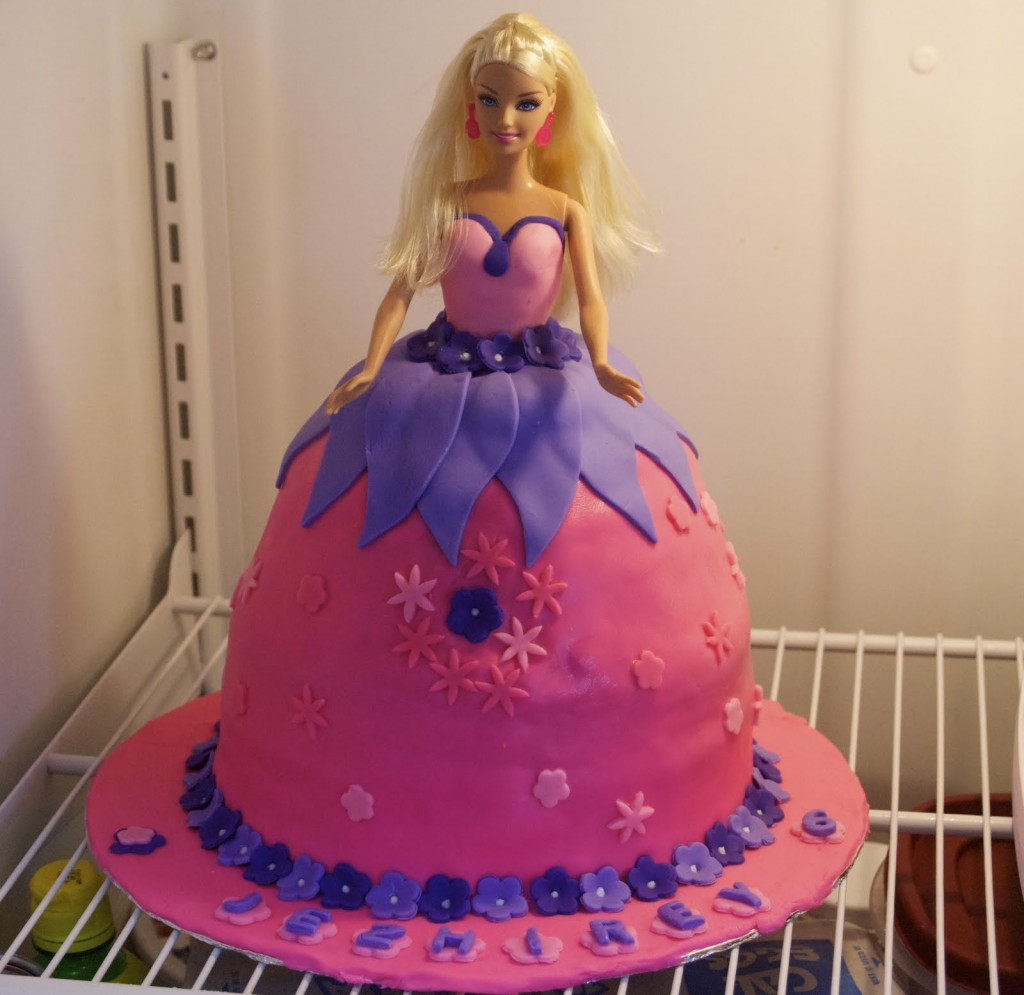 Barbie Doll Cake Recipe