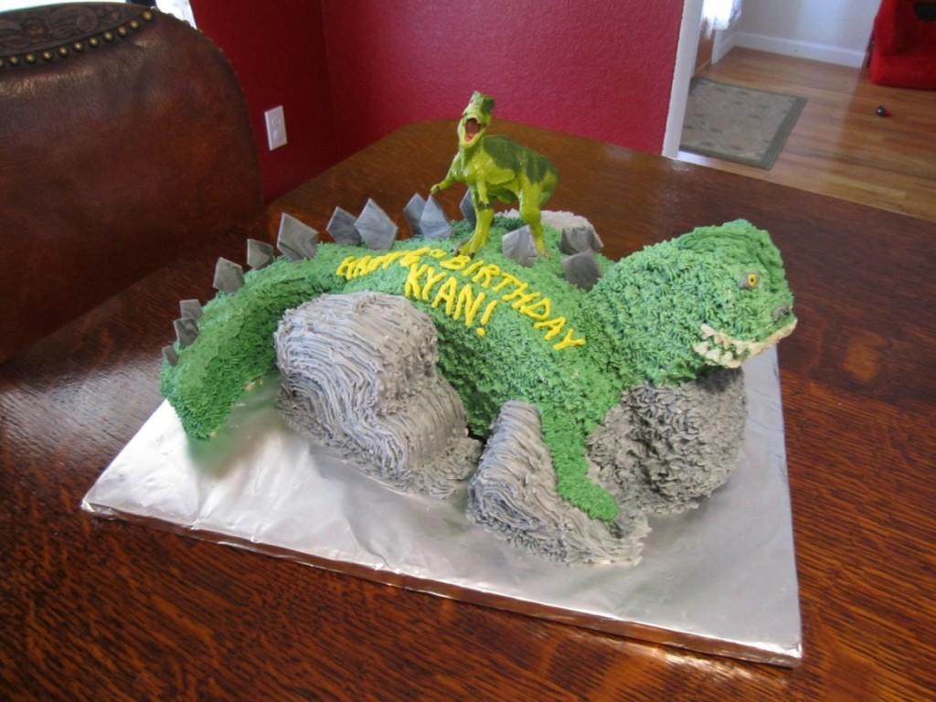 Barney The Dinosaur Cakes