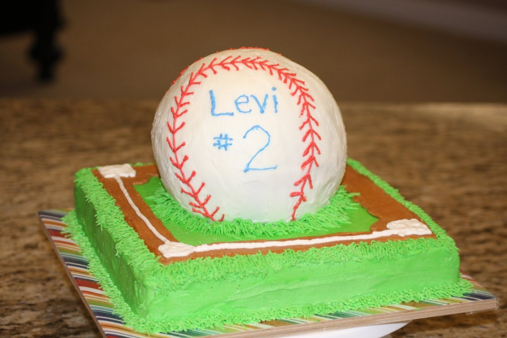 Baseball Birthday Cake Pictures
