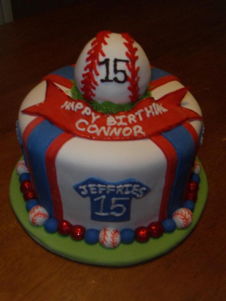 Baseball Cake Balls