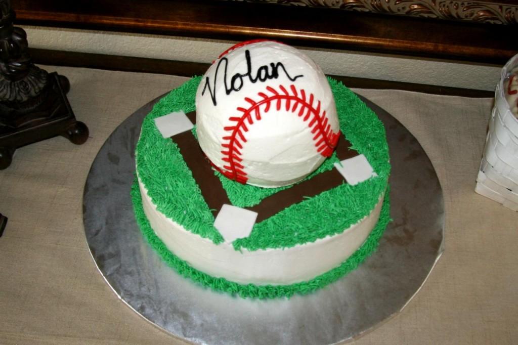 Baseball Cake Ideas