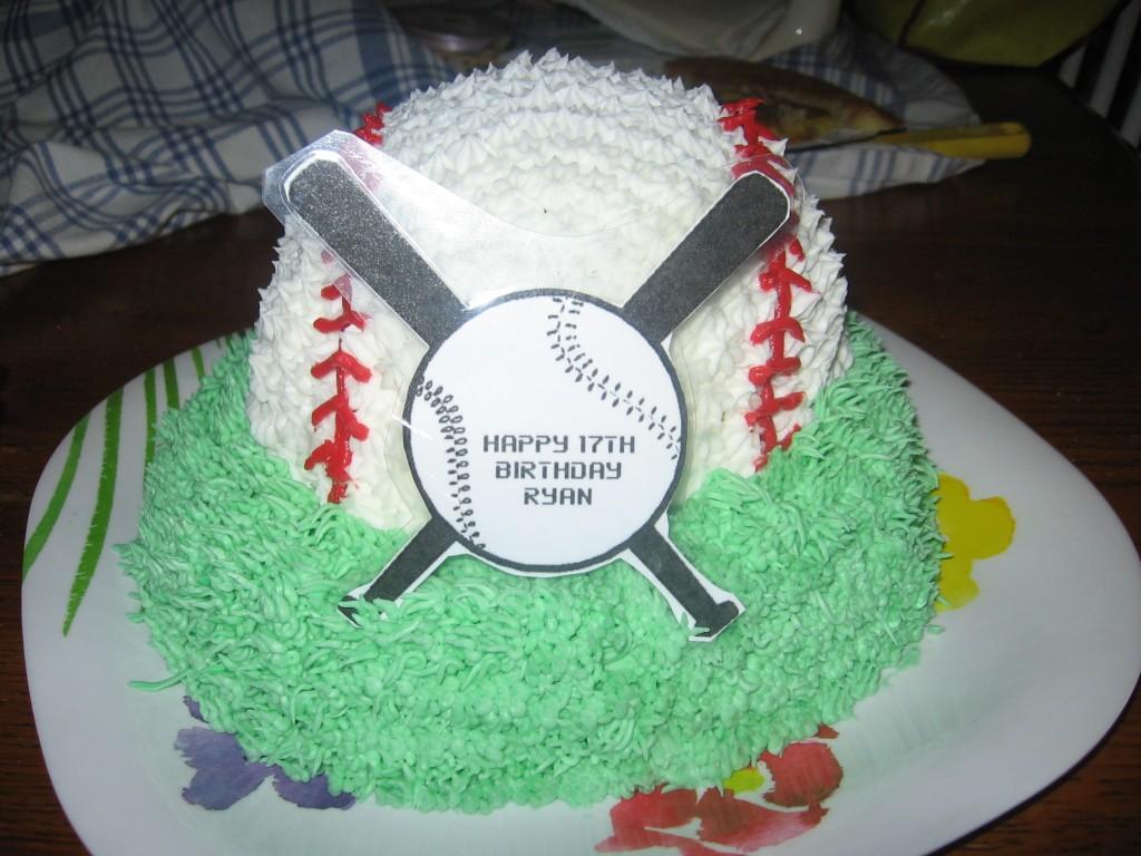 Baseball Cakes Photos