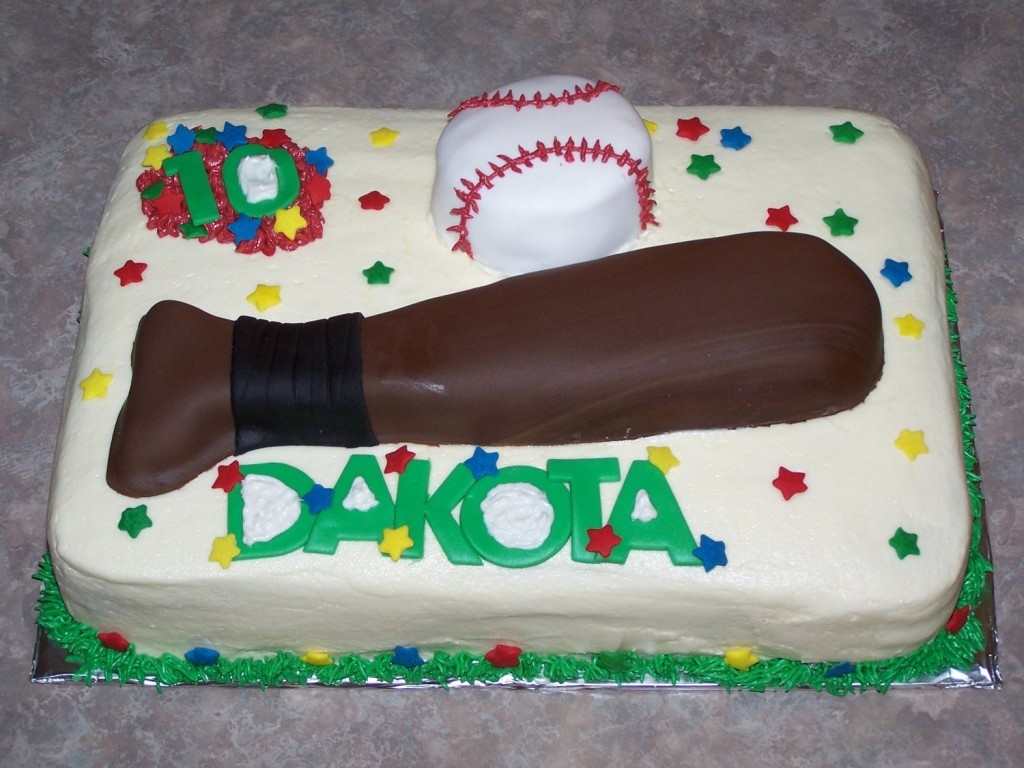 Baseball Cakes Pictures