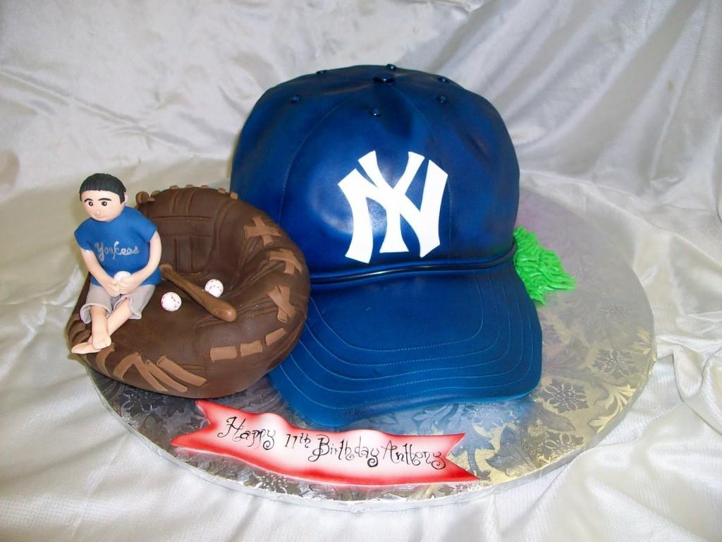 Baseball Cap Cake
