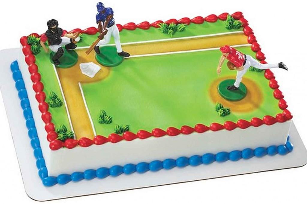 Baseball Field Cakes