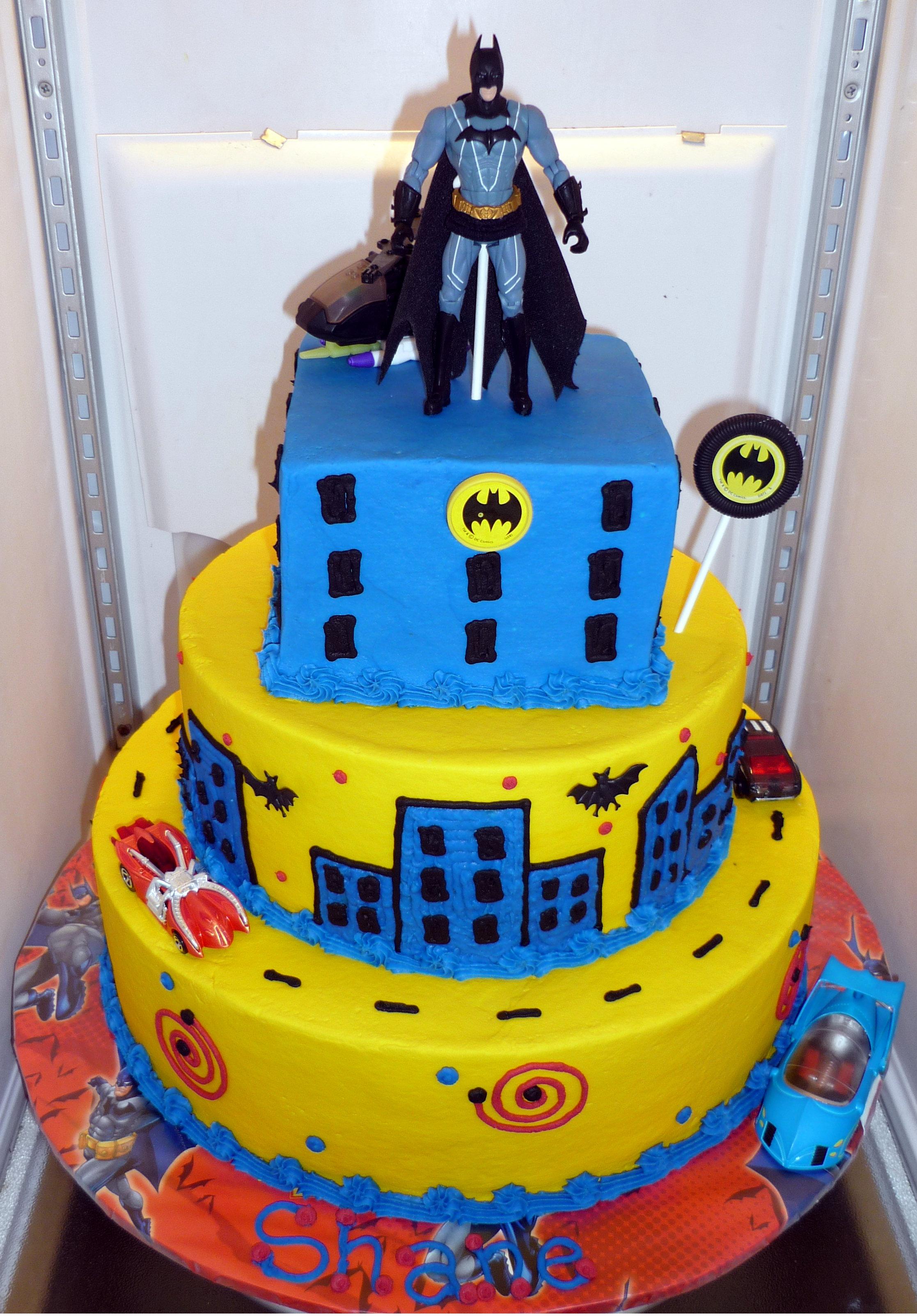 Tremendous Batman Cakes Decoration Ideas Little Birthday Cakes Personalised Birthday Cards Cominlily Jamesorg
