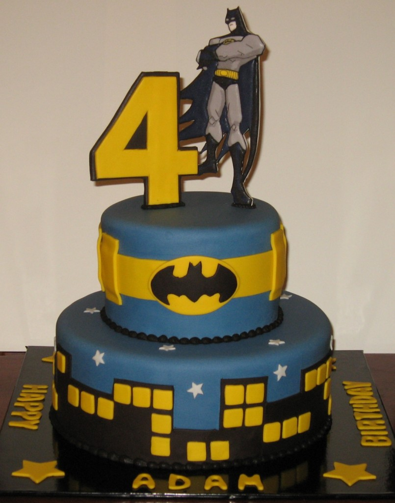 Batman Birthday Cake Photos