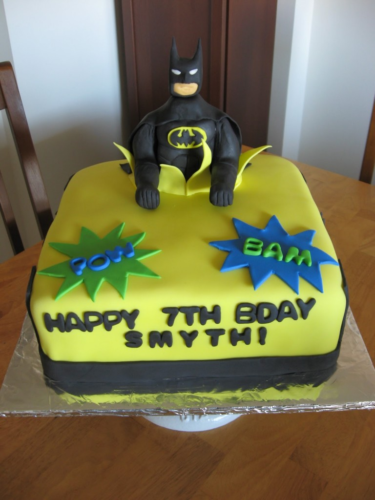 Batman Birthday Cakes Designs