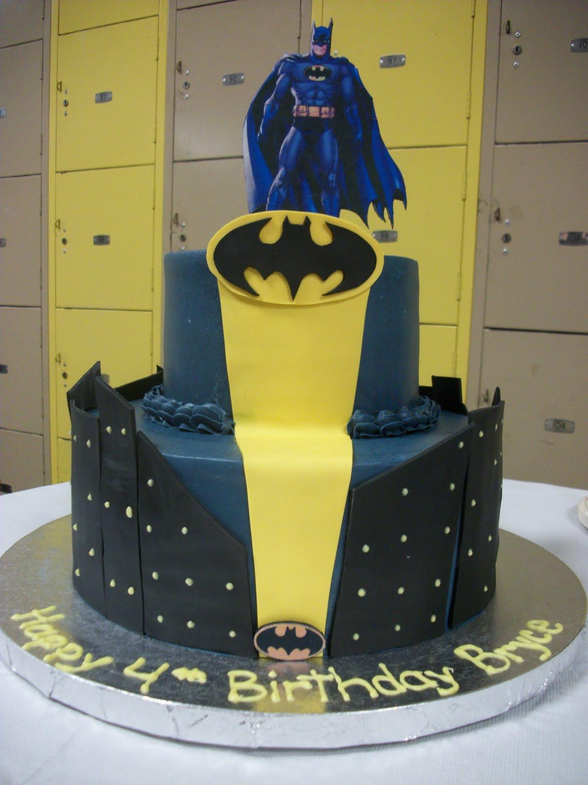 Batman Birthday Cakes For Kids