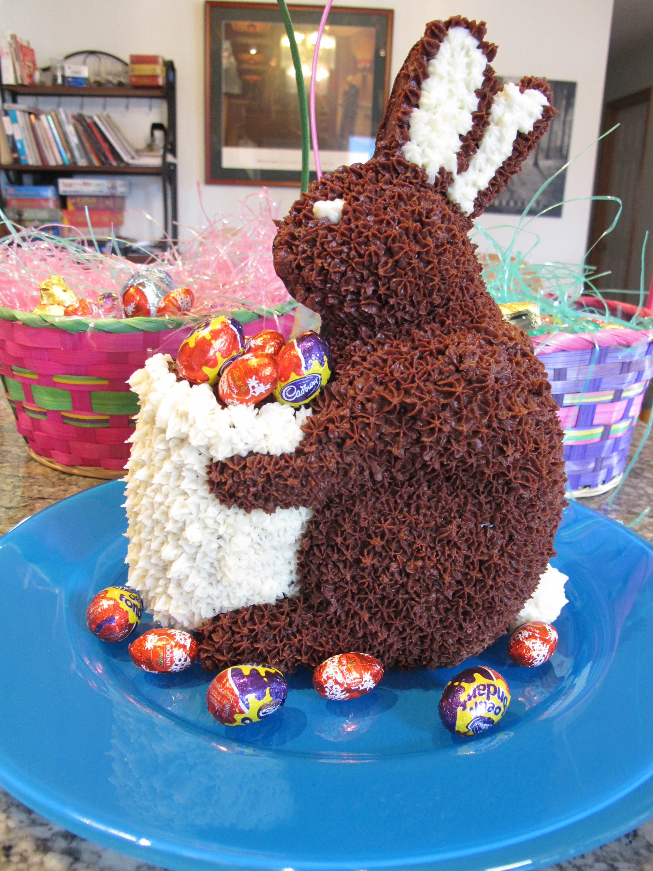 Outstanding Easter Bunny Cakes Decoration Ideas Little Birthday Cakes Funny Birthday Cards Online Fluifree Goldxyz