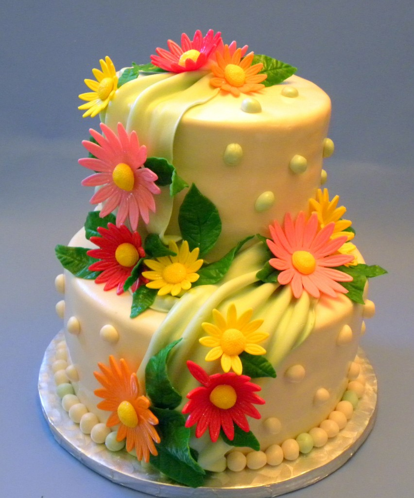 Birthday Cake Flowers