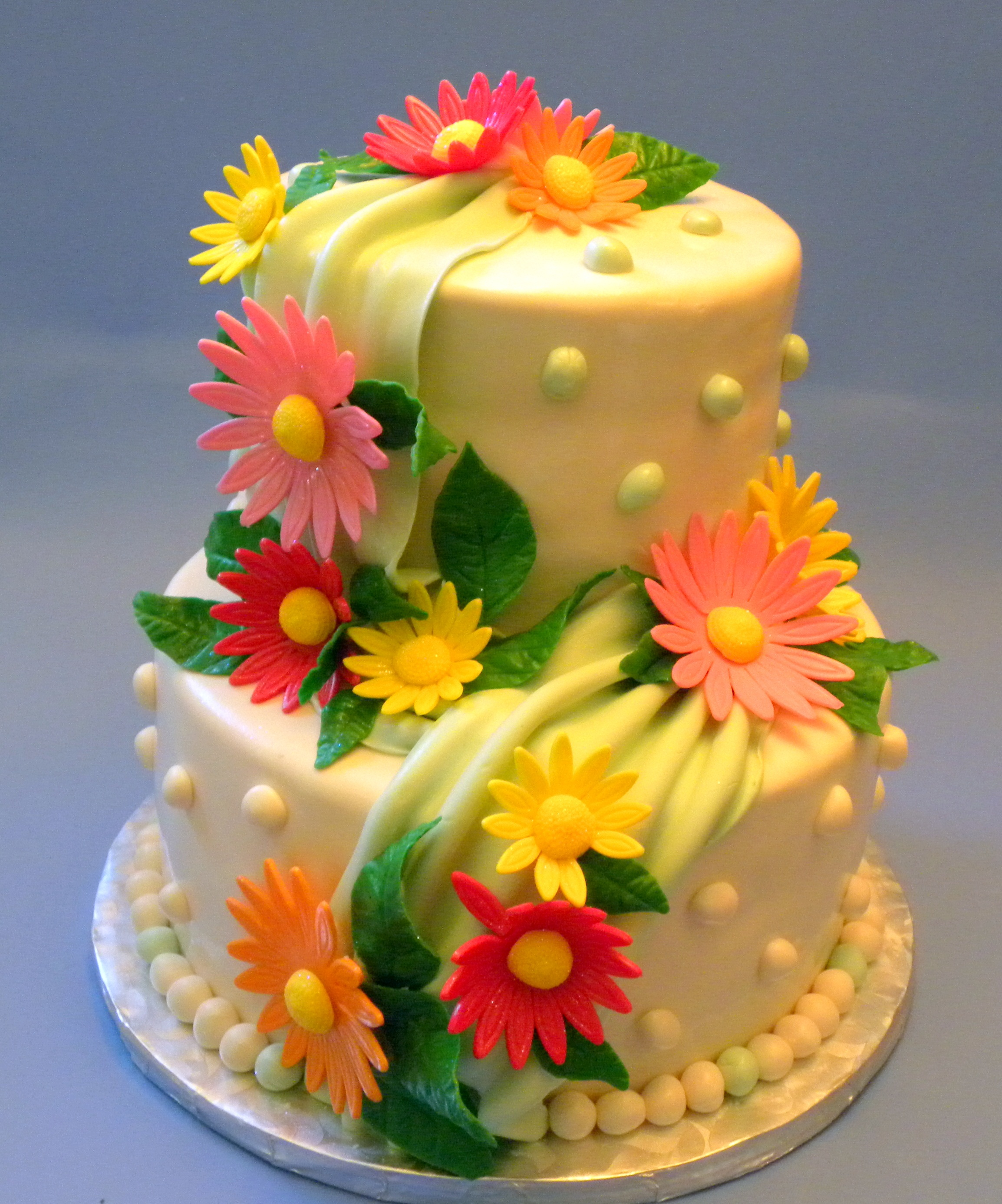 Fine Flower Cakes Decoration Ideas Little Birthday Cakes Funny Birthday Cards Online Barepcheapnameinfo