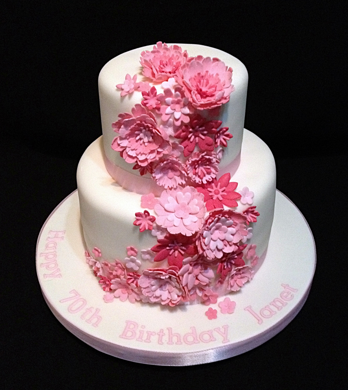 Wondrous Flower Cakes Decoration Ideas Little Birthday Cakes Funny Birthday Cards Online Alyptdamsfinfo