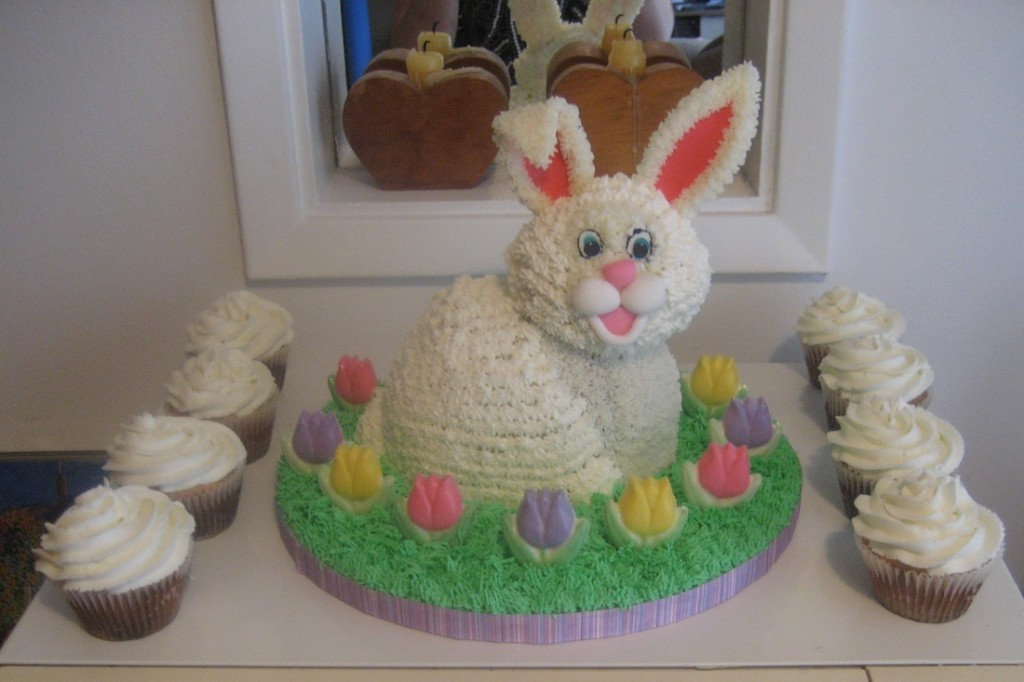 Bunny Cake For Easter