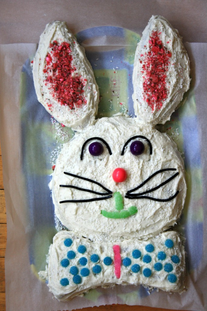 Bunny Easter Cake
