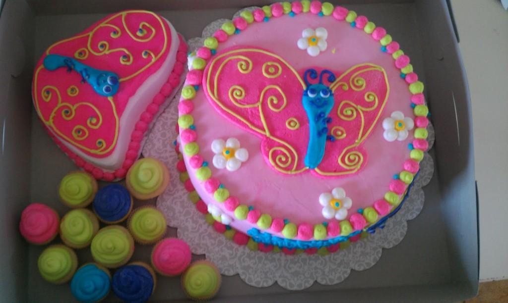 Butterflies Cakes