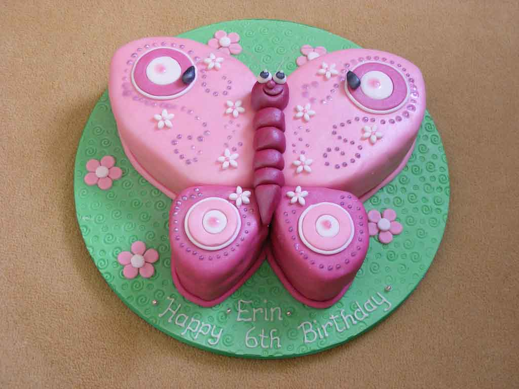 Butterfly Birthday Cake Ideas