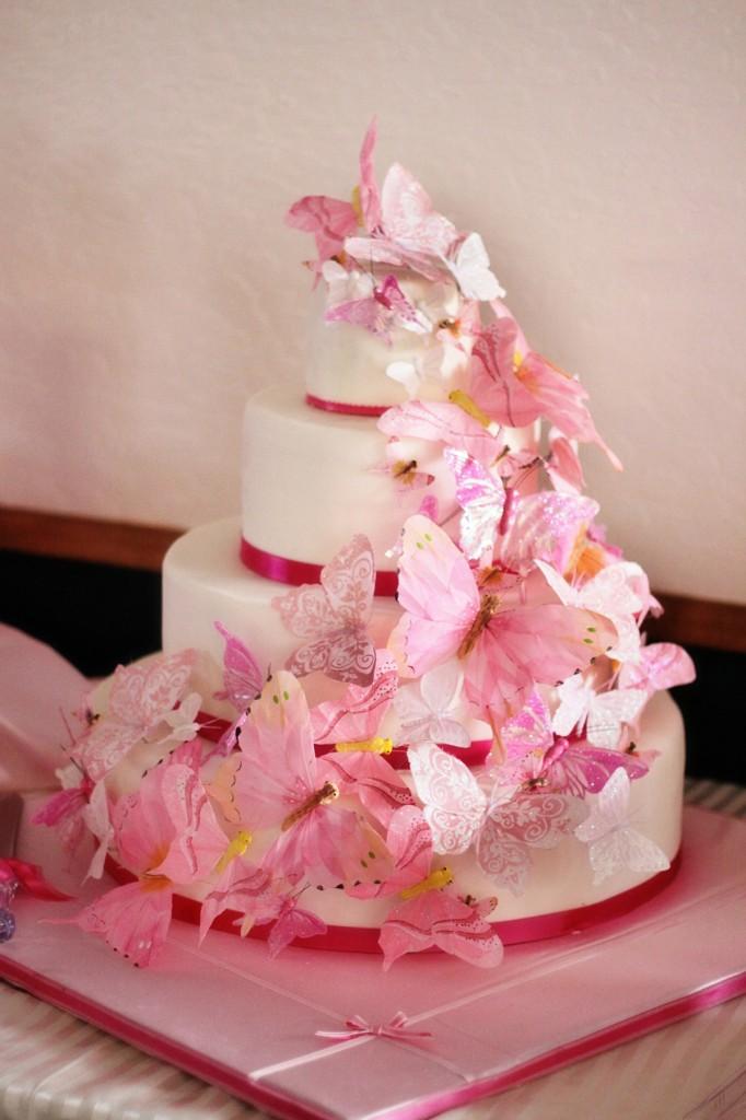 Butterfly Wedding Cake