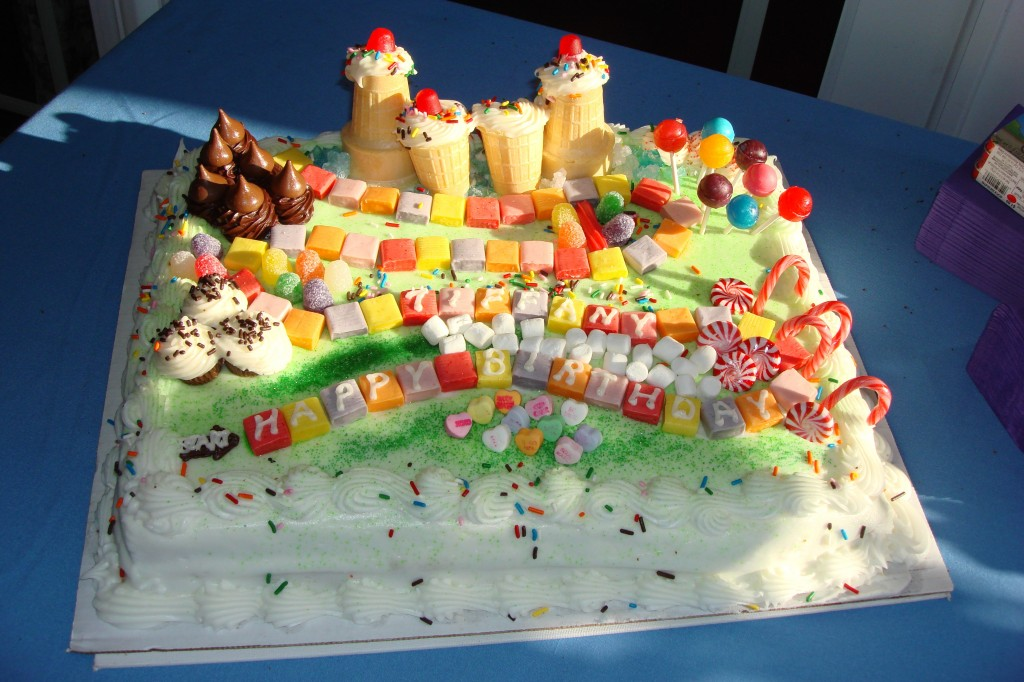 Candyland Cake Cake Boss