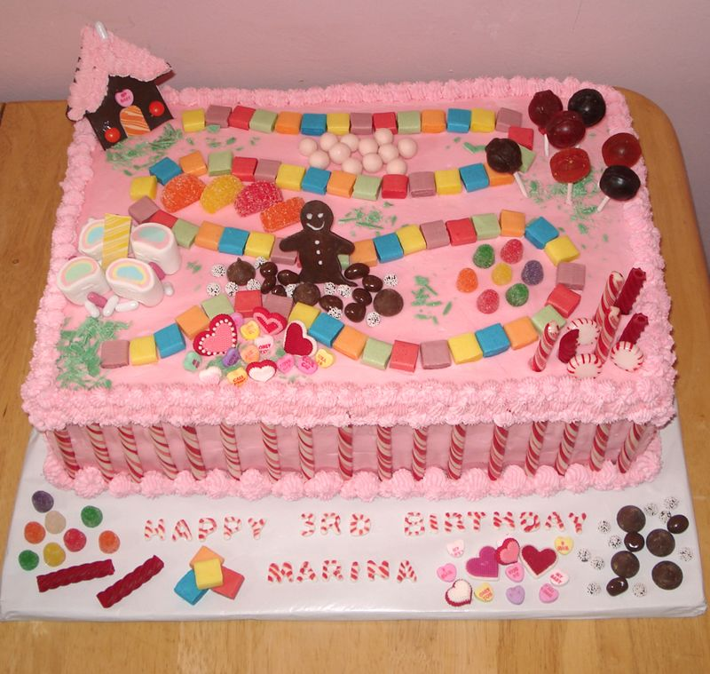 Candyland Cake Decorations