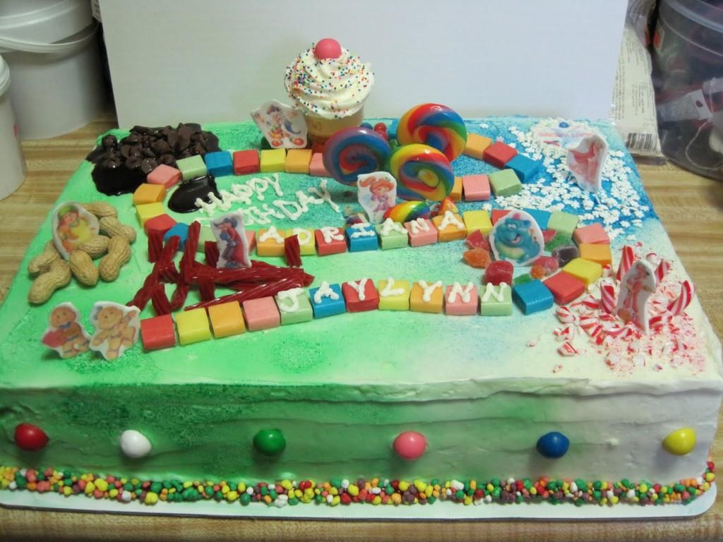 Candyland Cake Ideas