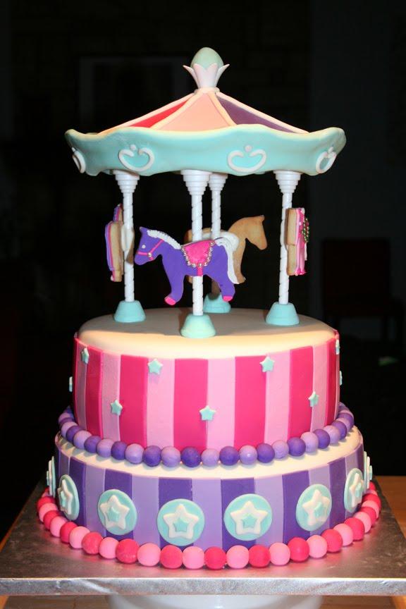 Carousel Birthday Cakes