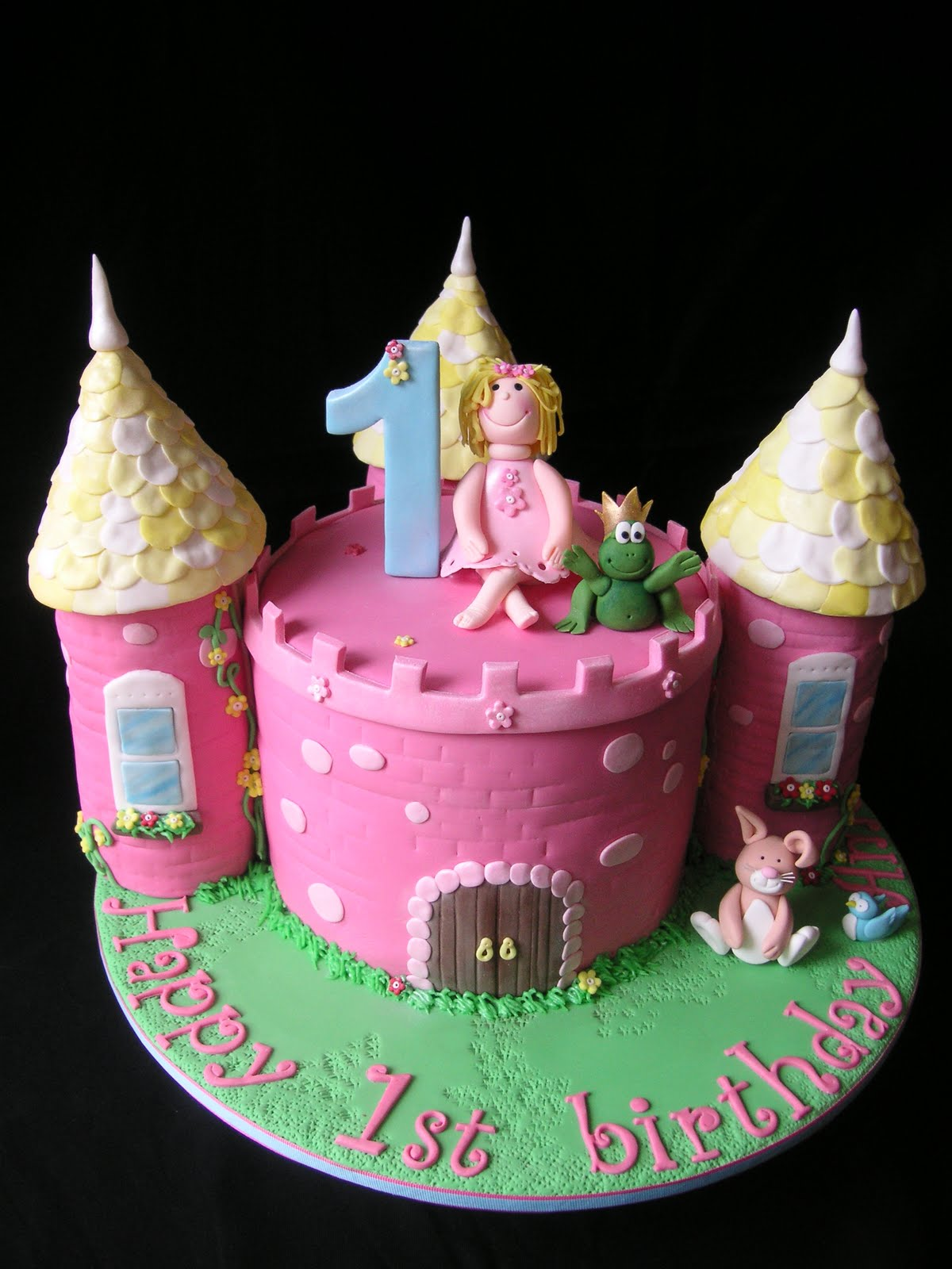 Excellent Castle Cakes Decoration Ideas Little Birthday Cakes Funny Birthday Cards Online Elaedamsfinfo