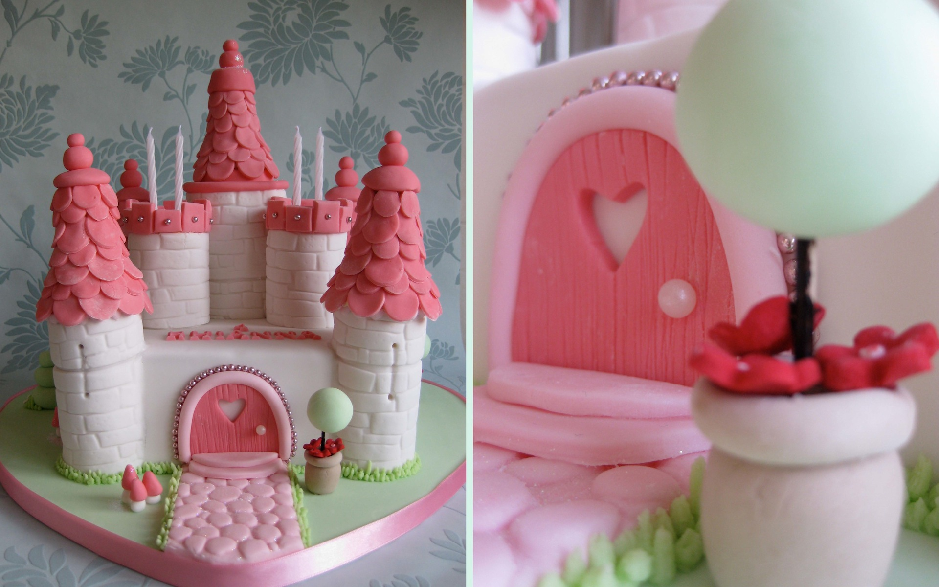 Pleasant Castle Cakes Decoration Ideas Little Birthday Cakes Personalised Birthday Cards Cominlily Jamesorg