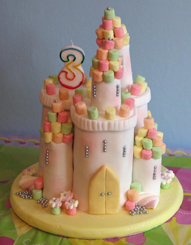 Castle Diaper Cakes
