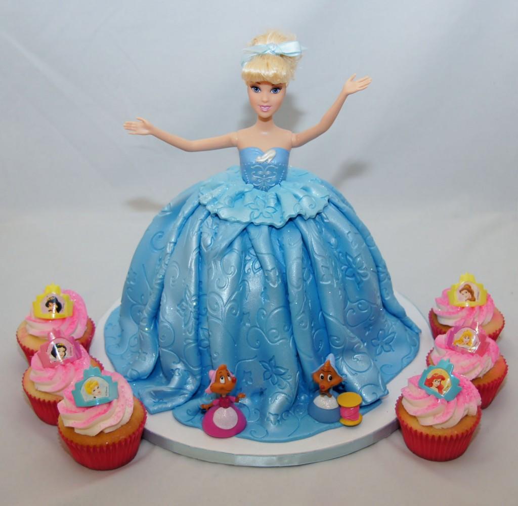 Cinderella Birthday Cake