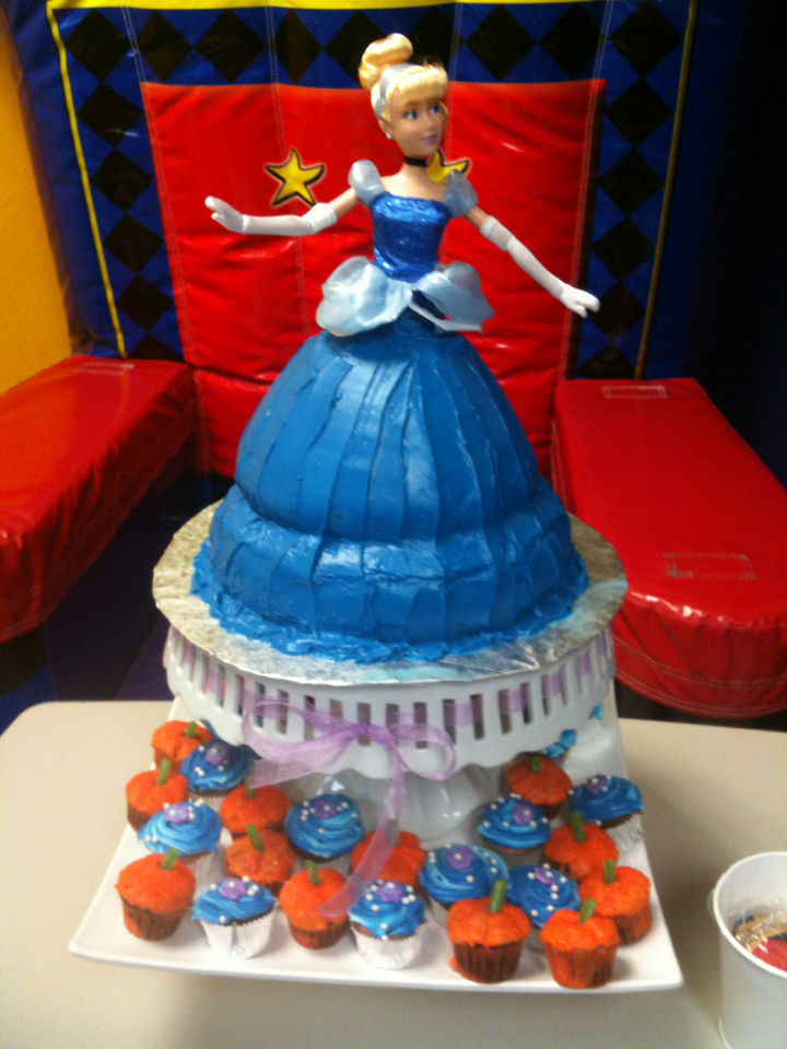 Cinderella Birthday Cake Designs