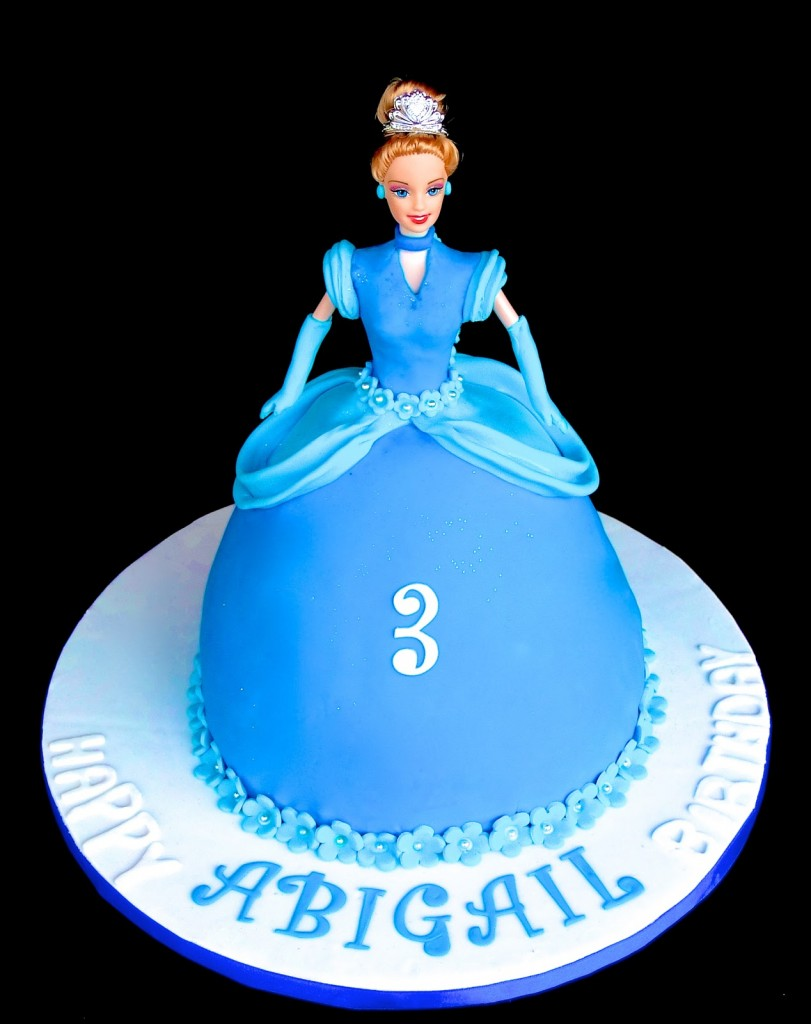 Cinderella Birthday Cake Topper