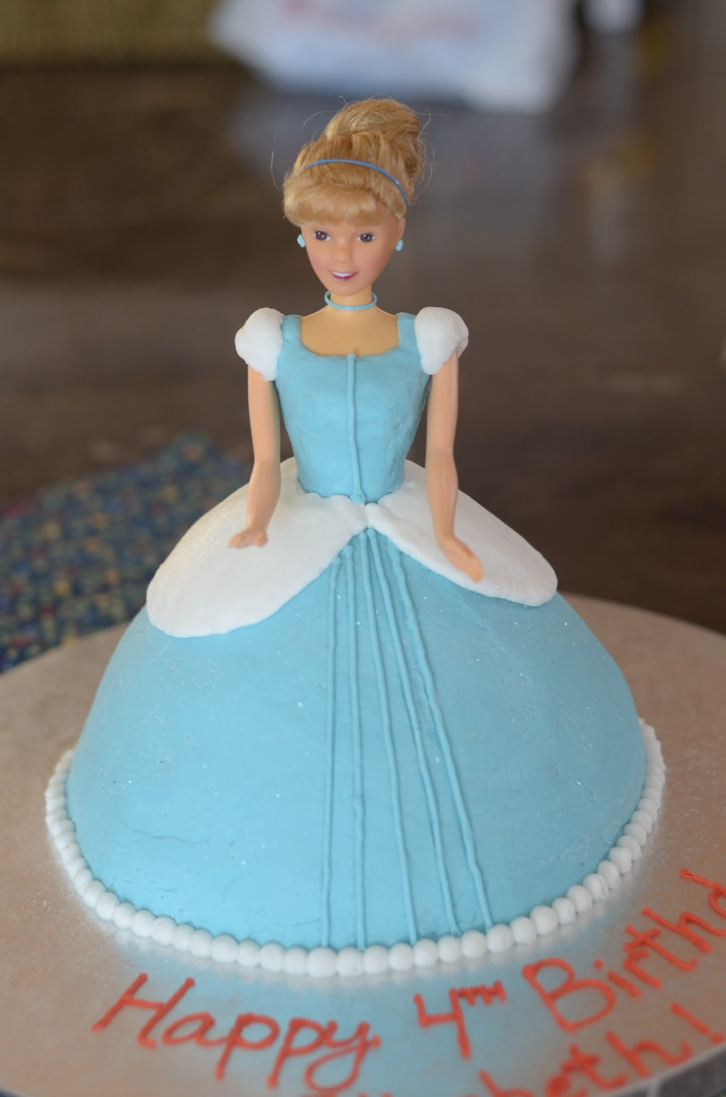 Pleasant Cinderella Cakes Decoration Ideas Little Birthday Cakes Funny Birthday Cards Online Overcheapnameinfo